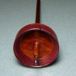 Ethan Jakob in pomelle bubingan and purpleheart and mahogany shaft