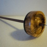 Wild Olive and Bolivian Rosewood and Walnut shaft